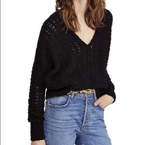 Free People Best Of You V Neck Sweater